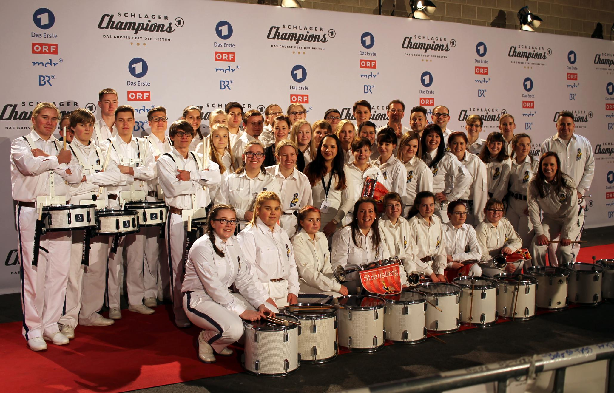 Fanfarenzug-Strausberg-auf-dem-Roten-Teppich